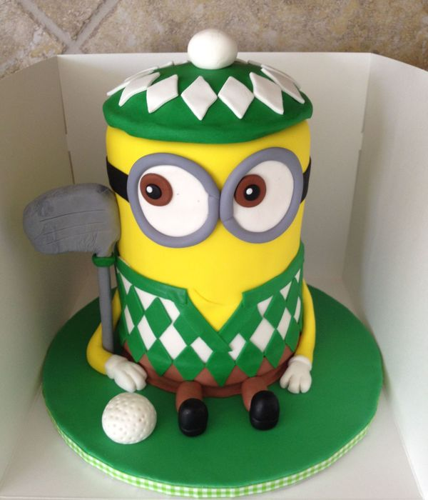 Despicable Me Minion Golfer