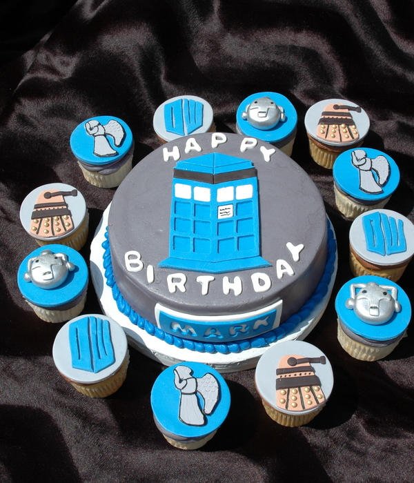 Dr. Who Cupcakes