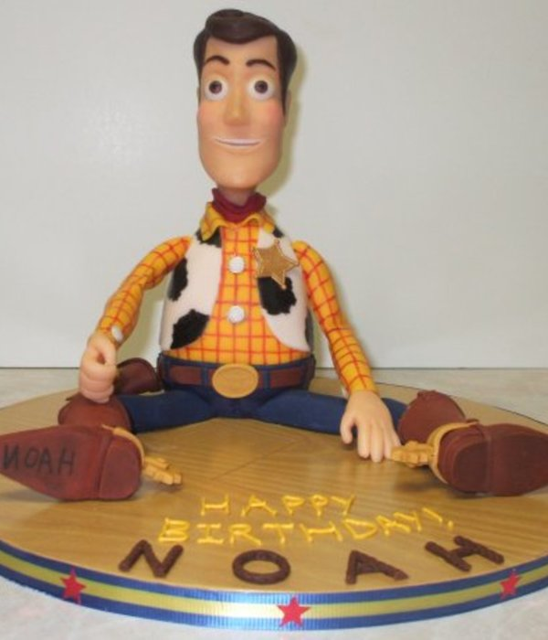 Noah's 3D Toy Story Woody