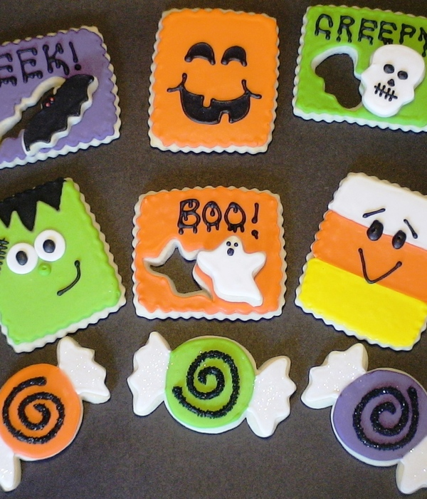 2011 Halloween Cookie Designs