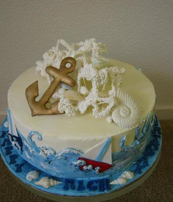 Nautical Sailing Cake