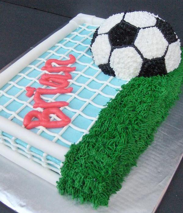Top Soccer Cakes CakeCentralcom