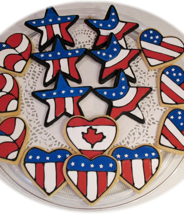 4Th Of July Independence Day Cookies