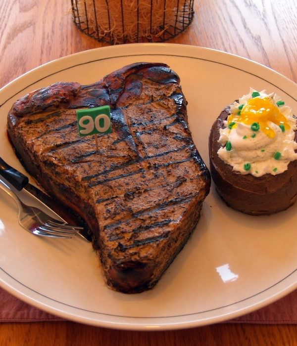 Steak And A Baked Potato