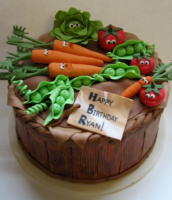 Top Vegetable Cakes - CakeCentral.com