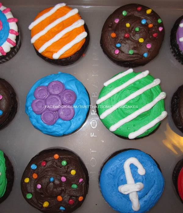 Candy Crush Saga Cupcakes