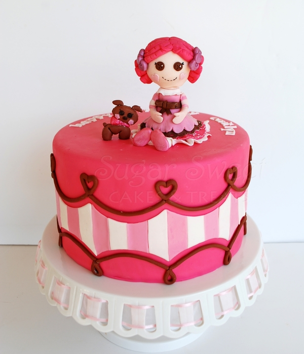 Lalaloopsy Cake - Toffee Cocoa Cuddles