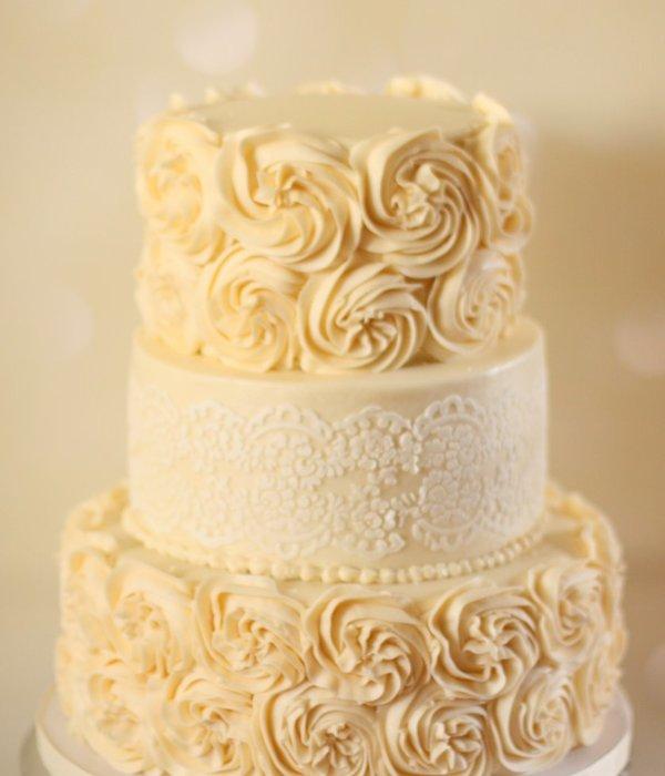 Rosette Cake Decorating Photos