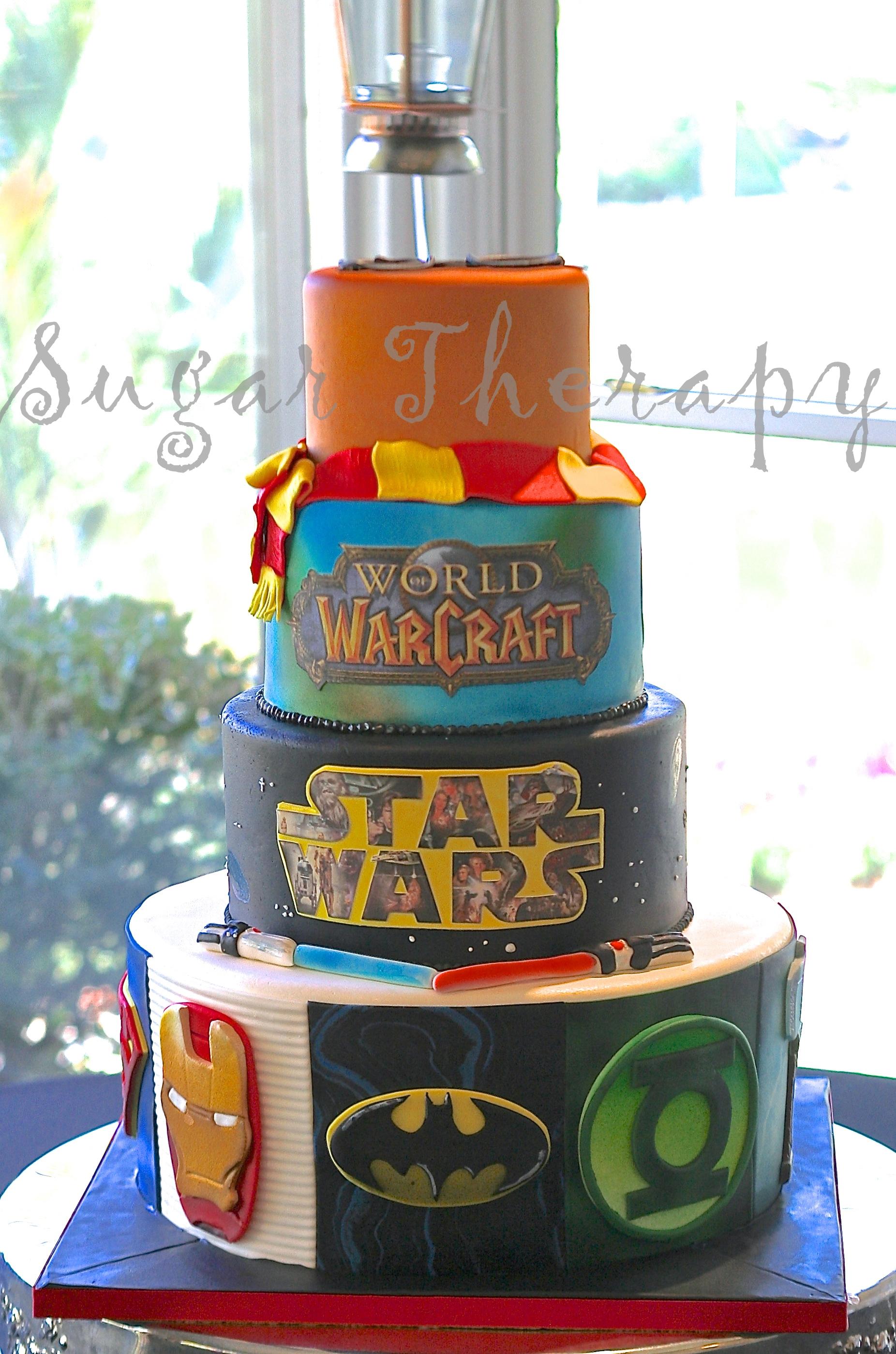 Heroic Comic Book Cakes CakeCentralcom