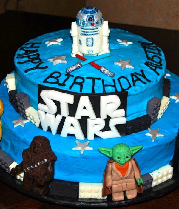 Top Star Wars Cakes CakeCentralcom