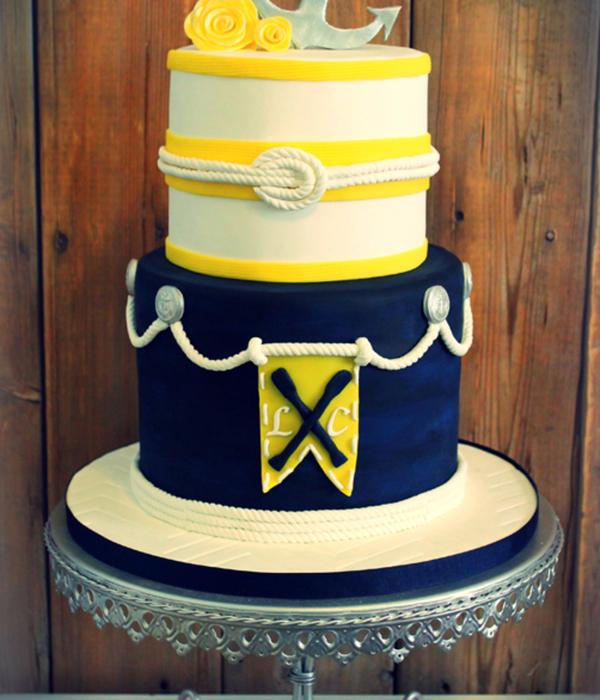 Anchor Cake Decorating Photos