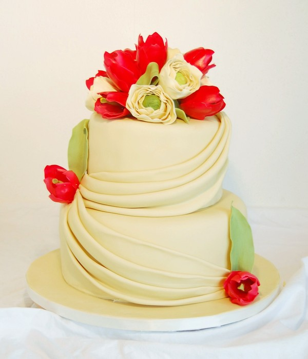 Tulip Wedding Cake