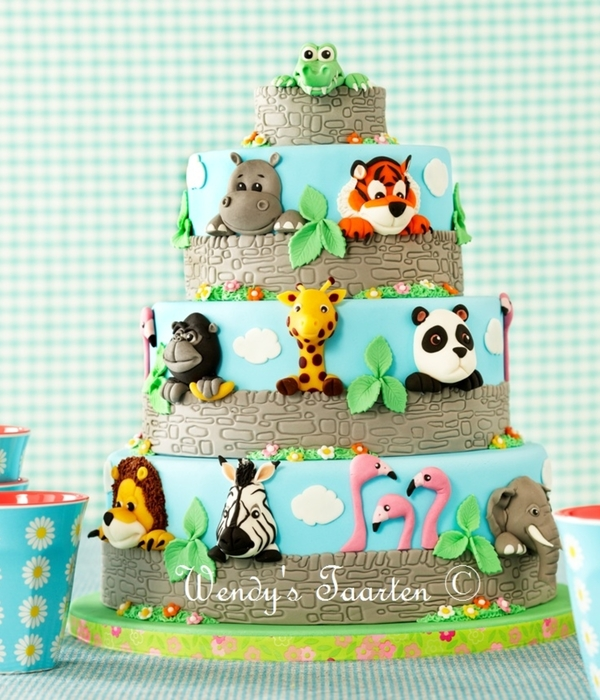 Top 9 Circus Zoo Themed Cakes Cakecentral