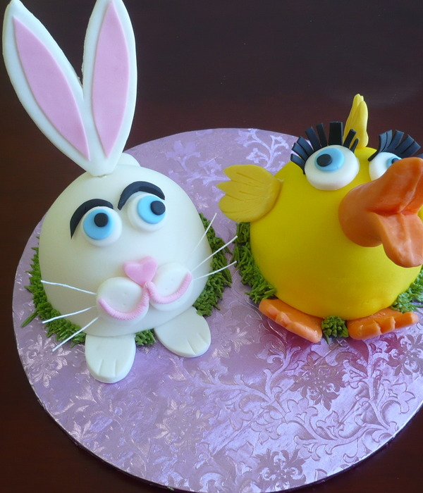Easter Bunnys Workshop Cake