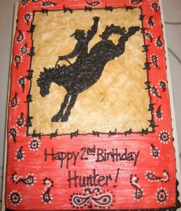 Top Wild West Rodeo Cowboy Cakes CakeCentralcom