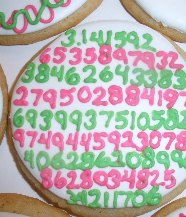 Pi Day Cookies