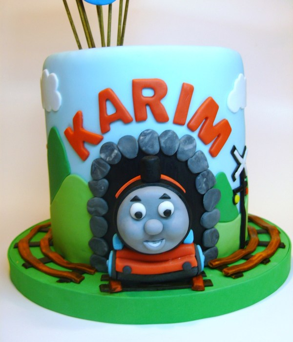 Fabulous Top Thomas Friends Cakes Cakecentral Com Funny Birthday Cards Online Overcheapnameinfo