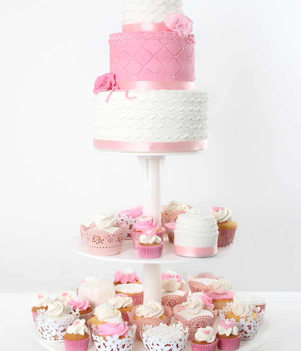 Mini Cakes, Wedding Cake And Cupcakes