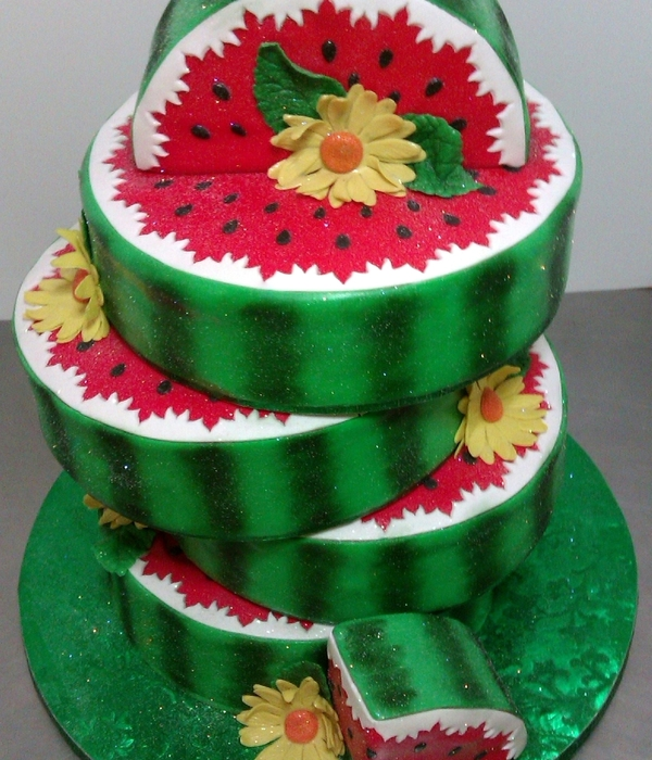 Watermelon Lovers Celebration Cake