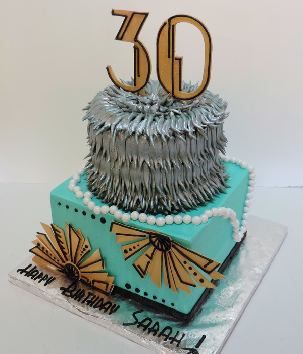 Art Deco Birthday Cake : Top Art Deco Cakes - CakeCentral.com