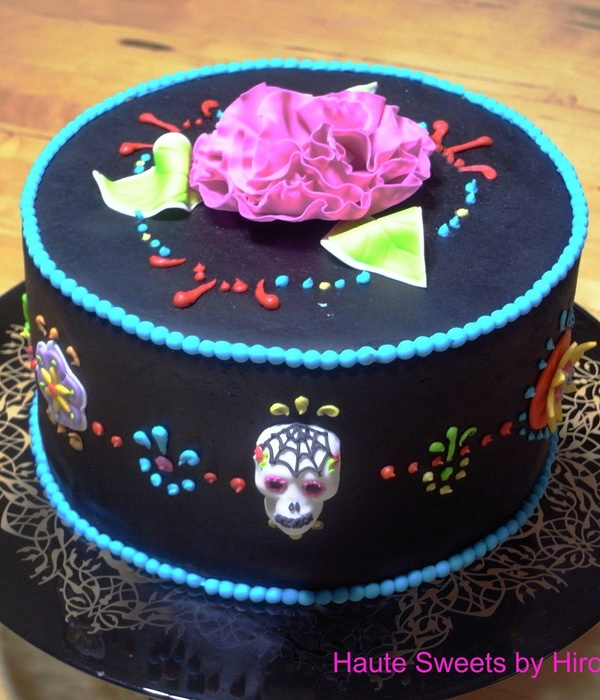 Day of the dead Cake Decorating Photos