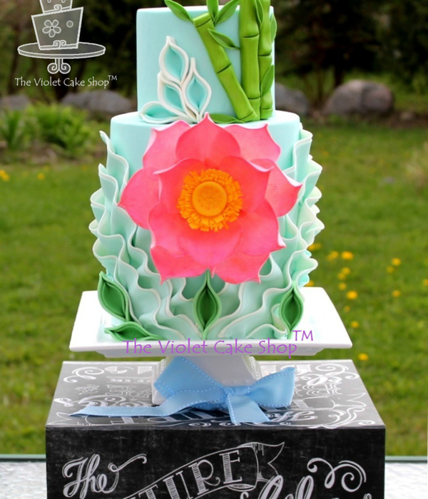 Super Cake Moms Collaboration - Lotus