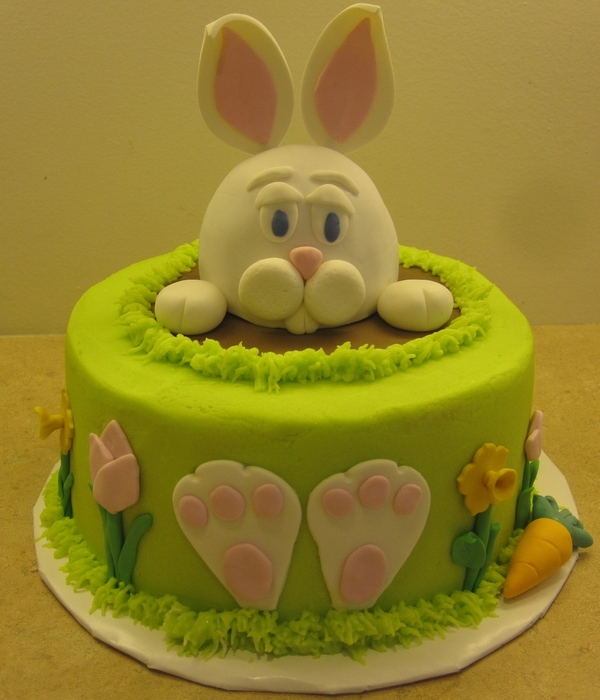 Rabbit Mold Cake Recipe