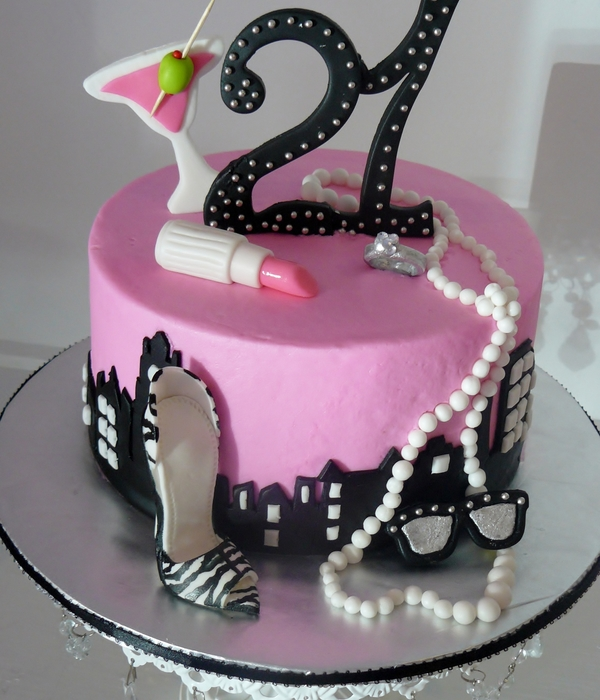 Top 21St Birthday Cakes