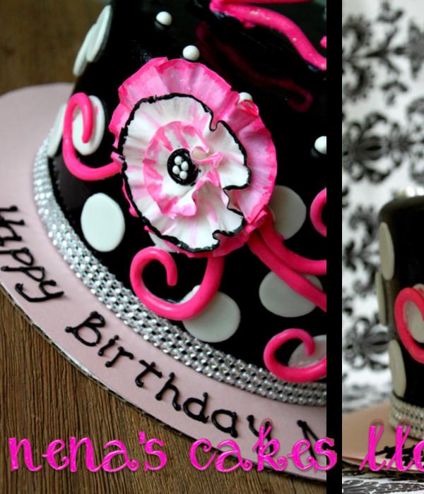 21st Birthday Cake Decorating Photos