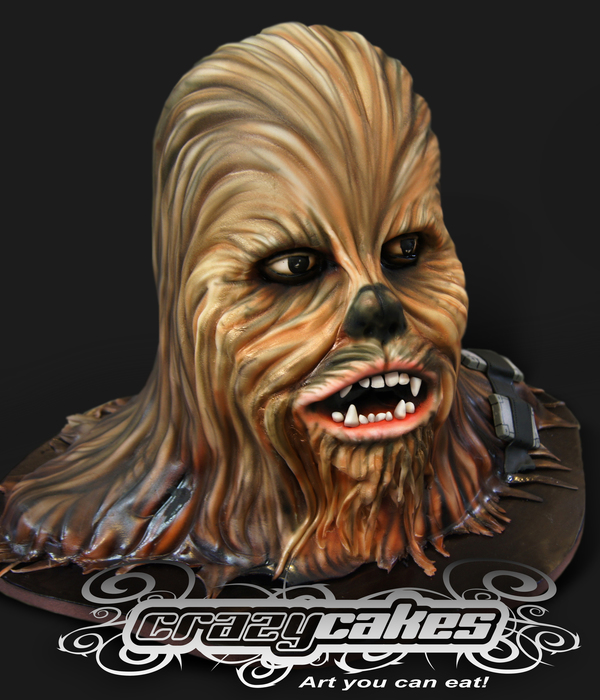 Star Wars Chewbacca Cake