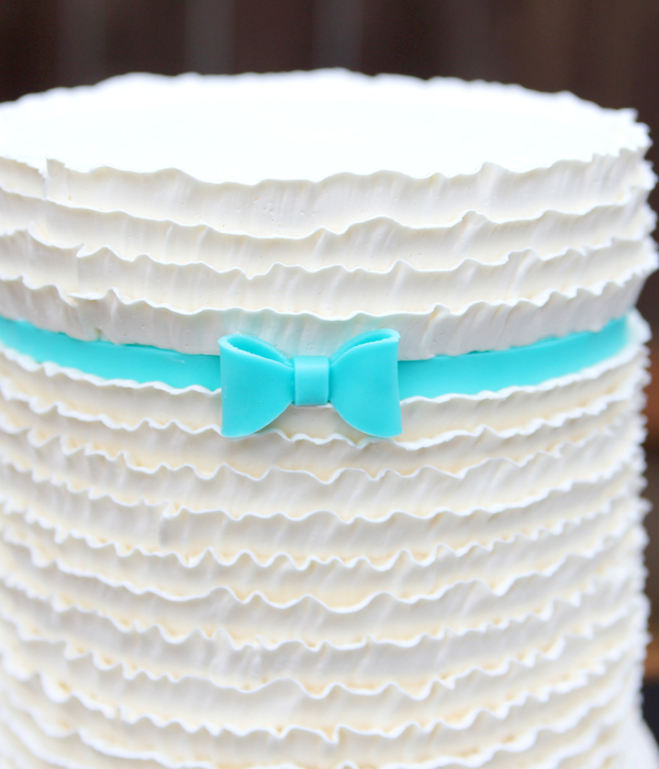 Buttercream Frills (Or Ruffles) Cake