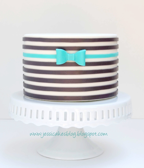 Horizontal Striped Cake