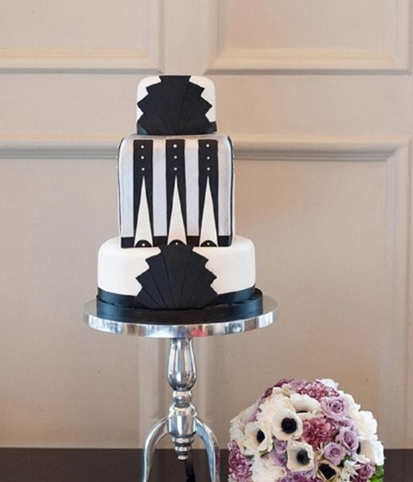 Art Deco Wedding Cake Topper Uk : Top Gatsby-Inspired Cakes - CakeCentral.com