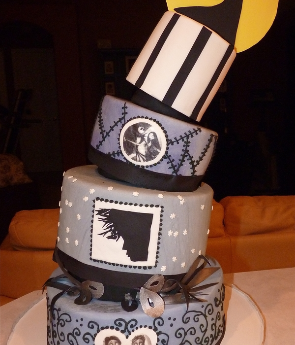 tim burton inspired wedding cakes top tim burton inspired cakes cakecentral 21007