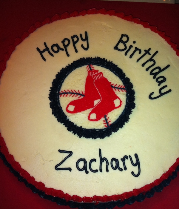 Boston Redsox Cake