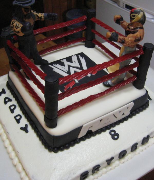 Wrestling Cake Decorating Photos