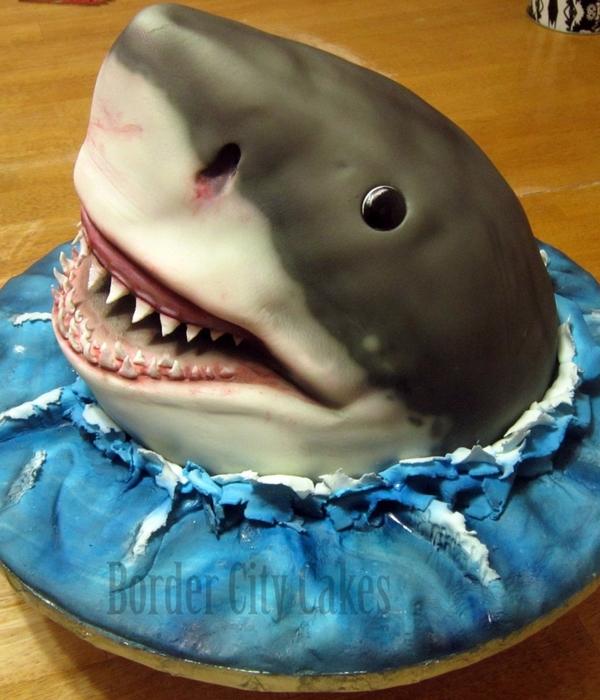 Shark Fondant Cake