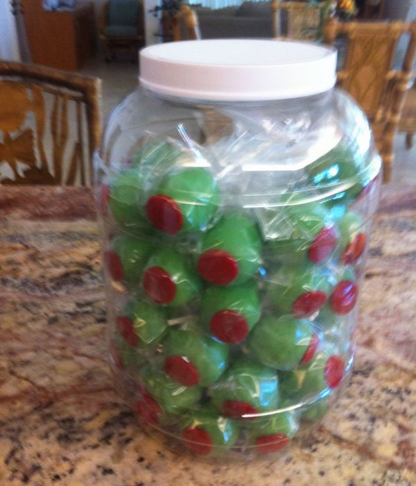 Jar Of Olives Cakepops