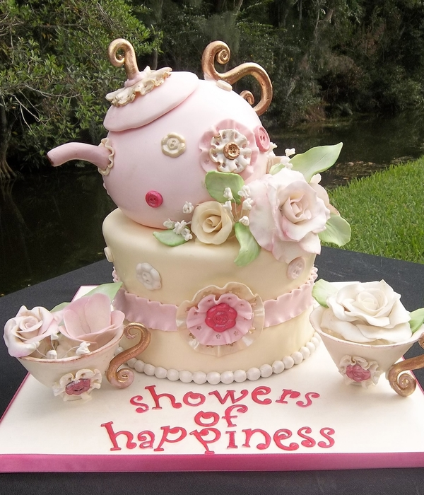 Top Mother's Day Tea Party Cakes - CakeCentral com