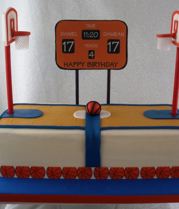 Top Basketball Cakes CakeCentralcom