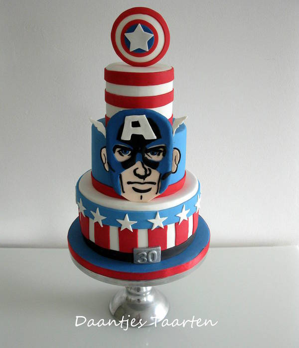 Captain America Shield Cake Pan
