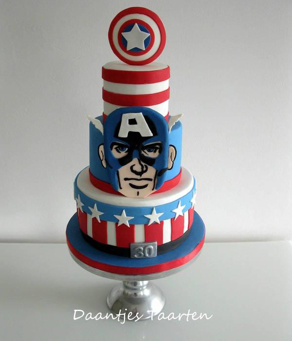 Top Captain America Cakes CakeCentralcom