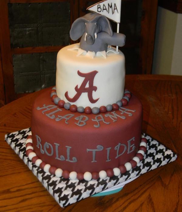 Alabama Crimson Tide Cakes CakeCentralcom