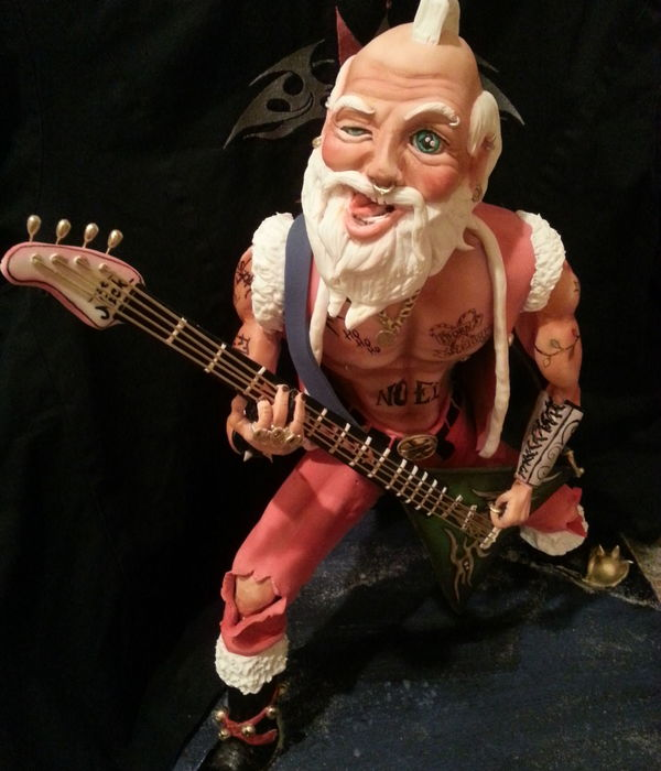 Santa Claus I Made From Fondant And Rkt For Fun