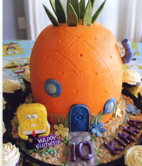 Made For My Granddaughter The Pineapple Is Cake Covered...