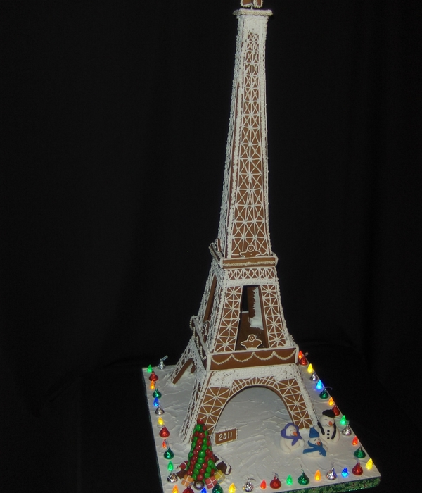 Gingerbread Effiel Tower