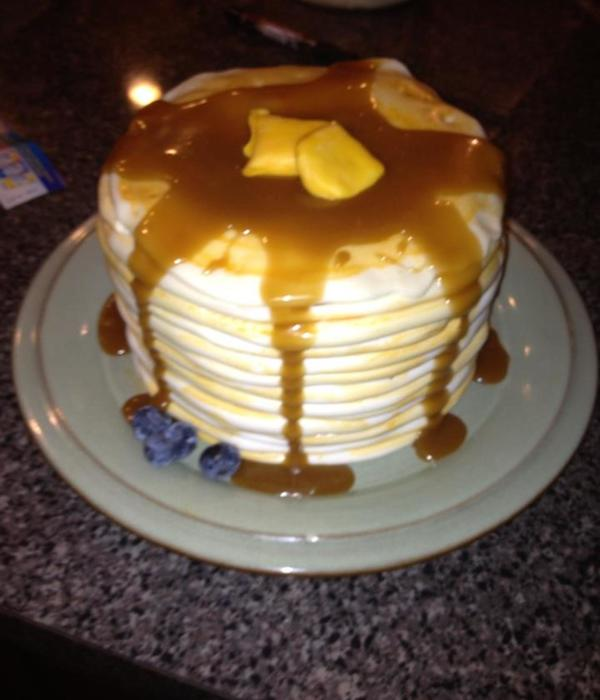 Pancake Cake Made From Lesley Wright S Of Royal Bakery...