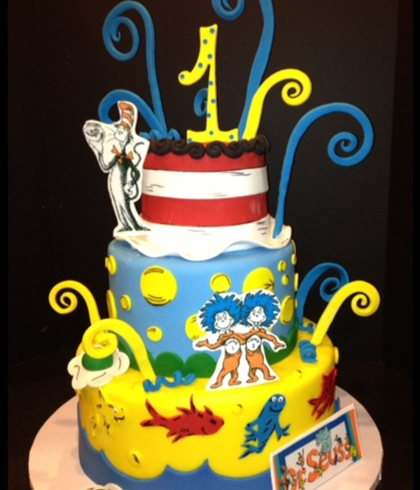 Dr Seuss One Fish Two Fish Cat In The Hat 5811 Swirls Are...