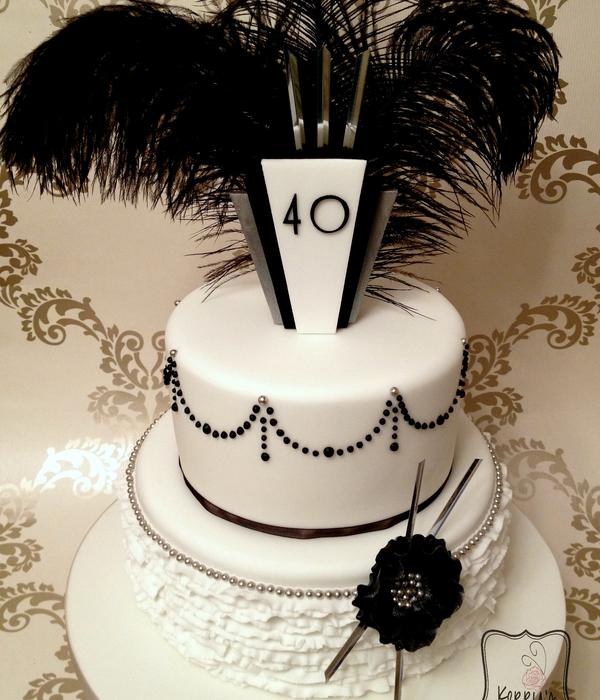 Art Deco Lady Cake : Top Art Deco Cakes - CakeCentral.com
