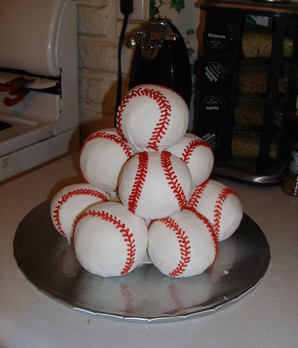 Stacked Baseballs Ii